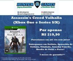 Assassins Creed Valhalla Xbox One e Xbox Series X S 12x Sem juros Lacrado 100% Português