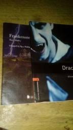 Livros Frankeinsten e Drácula