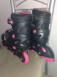Patins rosa da Brink+