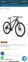 Bicicleta Aro 29 OGGI HACKER (Melhor custo benefício)