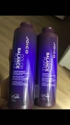 Kit shampoo e condicionador Joico color balance purple