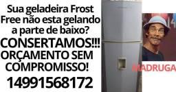 Conserto e Manutenções de geladeiras e refrigeradores