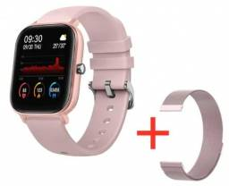 Smartwatch P8 + Pulseira metálica extra atacado/varejo