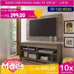 PROMOÇÃO DAS MÃES / RACK COM PAINEL PARA TV ATÉ 42 POLEGADAS