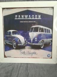 Quadro Retrô Volkswagen
