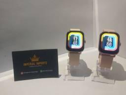 Smartwatch P8 Plus - Entrega Gratis - lançamento 2021+Brinde