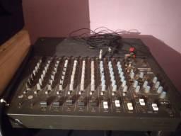 Vendo mesa de som Wattsom amw 10 canal 300 reais