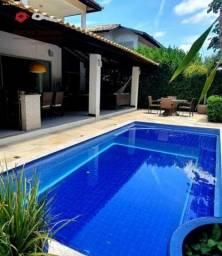 Casa em Condomínio para Venda em Salvador, Alphaville II, 4 dormitórios, 4 suítes, 5 banhe