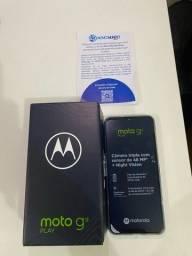 Smartphone Motorola Moto G9 Play 64GB Azul Safira Novo