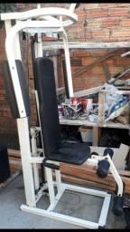 Estação de musculação com 50kg