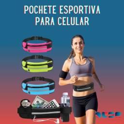 Pochete Fitness para Celular Impermeável PROMOÇÃO IMPERDÍVEL!!!