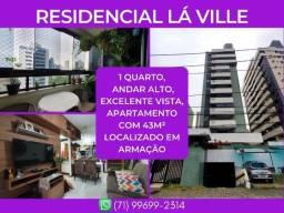 ResidencialLa Ville, 1 quarto, apartamento com 43m² - Surreal