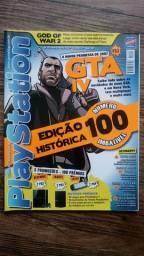Título do anúncio: Revista PlayStation 100 - edição histórica - Gta 4