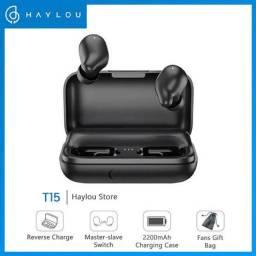 Fone Bluetooth Haylou T15 CASE 2200mAh