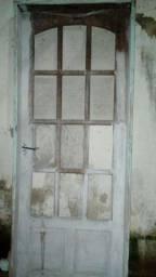 Porta de madeira Pau Darco