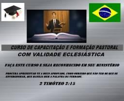 Curso livre de formação pastoral leia o anúncio