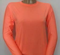 Camisa UV  Malha fria feminina