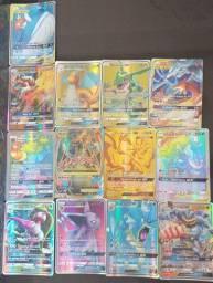Pacote 13 Cartas Pokemon/Abaixei de 100.00 por 70.00-leia descrição