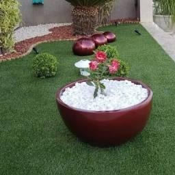 Vaso, jardineira , esferas e bacia