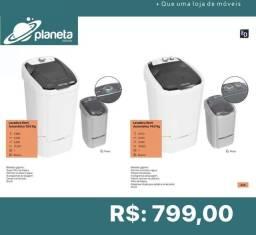lavadora semi automática planeta móveis