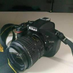 câmera Nikon d5200 apenas 9195 clicks