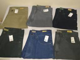Calça jeans tradicional masculinas do 42 ao 48