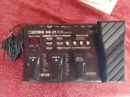Pedaleira Boss Me-25 com Fonte Original e Manual de Uso!