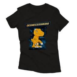 Camiseta Baby Look Agumon