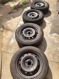 Rodas de ferro Renault Aro 15