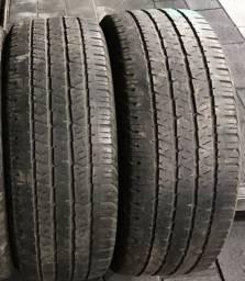 Par de pneus 18 Hilux , Amarok 265/60 R18 80%