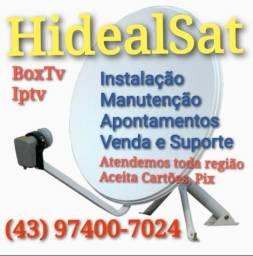 Instalação de Antenas Conversores Digitais em geral