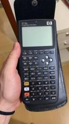 Calculadora HP 50g nova, com capa