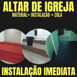 Carpete Para Altar de Igreja à Pronta Entrega | Peruibe | Praia Grande | São Vicente