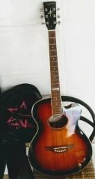 Tagima Guitar Acoustic - Dallas Model - TEQ 5, 5 Band EQ - Chromatic Tuner