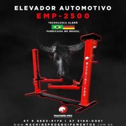 Elevador Automotivo | Lubrificação a Óleo | Capacidade 2500 Kg | Machine-Pro