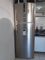Vendo minha geladeira inox 2 portas