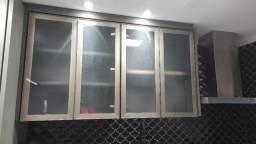 4 portas novas para armario em alumínio e vidro miniboreal