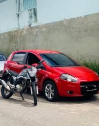 Fiat Punto 2008/ Titan 160 Quero i30 teto solar ou moto 600 cc