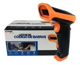 Leitor De Codigo De Barras Sem Fio Knup Wireless