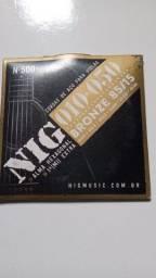 Título do anúncio: Encordamento Violão Aço NIG 010