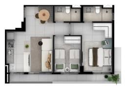 Apartamento de 2 quartos no marista com varanda e sem varanda