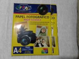 Lote de papel fotografico