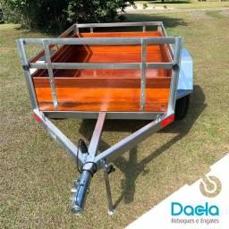 Carretinha - Reboque - Dacla em Promoção