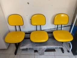 Cadeira com 3 lugares