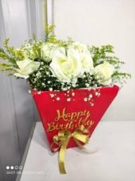 Título do anúncio: Box de Flores para Aniversário