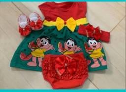 Lindos kit vestido para sua princesa
