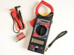 Alicate Amperimetro Medidor Ac / dc Luatek Multimetro<br><br>