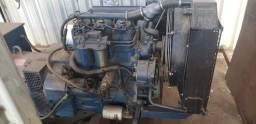 GRUPO GERADOR DE ENERGIA STEMAC 40 KVA ANO 1995 MOTOR MWM