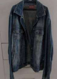 Jaqueta jeans feminina alongada