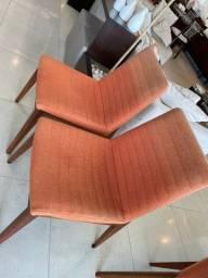Cadeira TokStok 1 ano de uso. 6unid